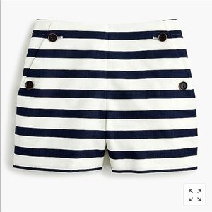 J.crew side button sailor shorts